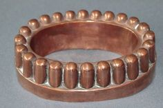 Victorian copper jelly mould, stamped 614 £125