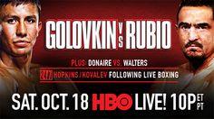 [LIVE STREAM] Golovkin vs Rubio Weigh-in 3:30 ET