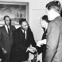 John F. Kennedys' Inaugural Address and Dr. Martin Luther King Jr's Letter From Birmingham Jail?