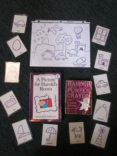 Harold and the Purple Crayon from Inspired Montessori and Arts at Dundee Montessori