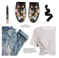 """Casual Embellished Sneakers"" by jazzyem ❤ liked on Polyvore featuring J.Crew, Dune, T By Alexander Wang and NARS Cosmetics"