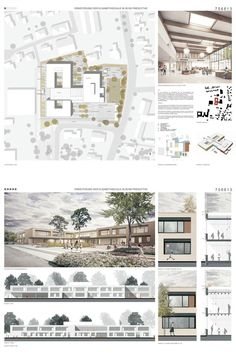 Competition support center Elisabethschule Friesoythe  Refurbishment and expansion of a special school for a modern operation with special learning and therapy offers. Layout of the submission to the architecture competition with site plan, floor plans, sections, views, visualizations and explanations. © Michels Architekturbüro GmbH # micarc1814 Best Picture For  precedent study Architecture board  For Your Taste You are looking for something, and it is going to tell you exactly what you are…