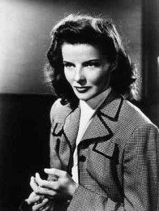 Actress Katharine Hepburn, featured on 11th March, 2013 (http://matriline.org/nubert-says/2013/3/11/once-a-woman-wrote)