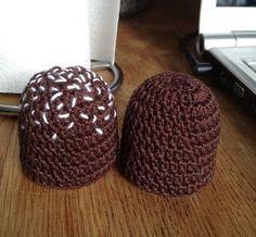Strikkekurven: Flødeboller. (Hæklet)