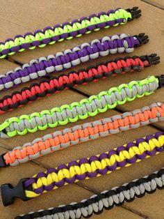 How to make paracord bracelets!