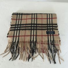 Authentic Burberry cashmere scarf 100% authentic used only 4-5 times in perfect condition Burberry Accessories Scarves & Wraps