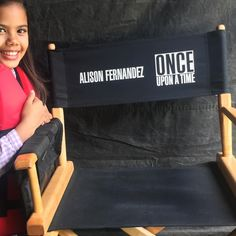 """""""How cool is this? I've been waiting and working most of my life for the day that I would get my…"""" - Alison Fernandez via Instagram."""