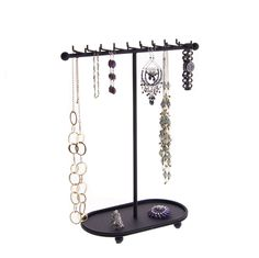 Choosing A Pearl Necklace Bracelet Holders, Necklace Holder, Jewelry Holder, Diy Necklace, Earring Holders, Earring Storage, Earring Display, Jewellery Storage, Jewelry Storage Solutions
