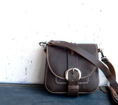 The Hinney  hand stitched leather purse  Feral by FeralEmpire, $155.00