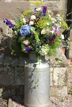 Traditional & vintage flowers....
