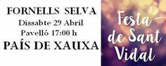 PAÍS DE XAUXA Dissabte 29 Abril Pavelló 17:00 h Ajuntament de Fornells de la Selva #paisdexauxa #espectacles #músicainfantil #animacióinfantil #cançons