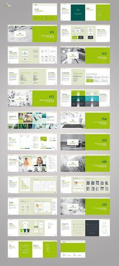 Landscape Brand Book  by Imagearea on @creativemarket