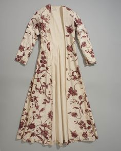 Wentke of indian sits, made in the third quarter of the 18th century in Hindeloopen, the Netherlands. This was a part of the traditional costume for women, which was worn from about 1700 to 1850.
