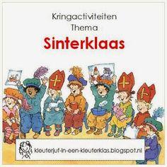 Kleuterklas: Kringactiviteiten thema 'Sinterklaas'