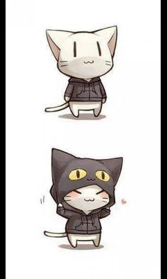 anime,neko,kawaii,cute