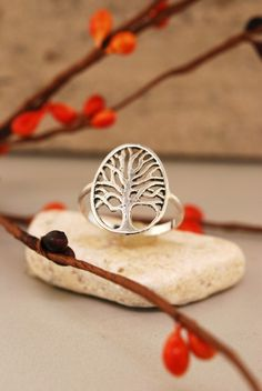 Branch Tree Ring by TeriLeeJewelry on Etsy, $32.00