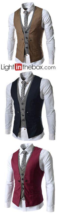 ¿Te gustan los chalecos de hombre para lucir mas formal y elegante? Encuéntralos en nuestro sitio.