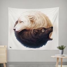 Electro Wall Tapestries Features: - HD Full-Quality Artwork by @jojoesart - 100% lightweight polyester with hand-sewn finished edges - Extremely vivid colors and crisp lines - Available in 2 sizes, re