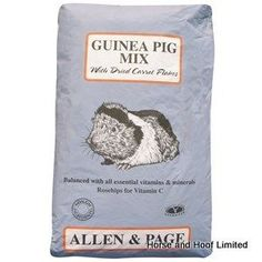 Allen Page Complete Guinea Pig Food Allen Page Guinea Pig Mix has been made from a range of high quality ingredients like barley maize oats peas. Guinea Pig Food, Guinea Pigs, Bedding, Range, Animal, Cookers, Bed Linens, Animals