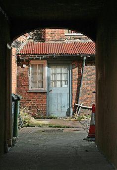Through The Gateway. Wells next the Sea, Norfolk. Norfolk Cottages, Wells Next The Sea, I Am The Door, Norfolk Holiday, Norfolk Coast, Tally Ho, Over The Hill, Republic Of Ireland, British Isles