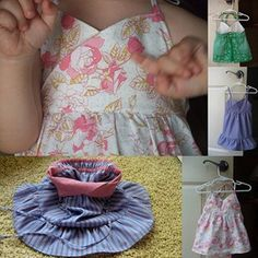 Love the idea of reversible for bitty babies, and I think this would be sweet on a bitty baby niece with sweet bloomers.