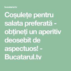 Coșulețe pentru salata preferată - obțineți un aperitiv deosebit de aspectuos! - Bucatarul.tv