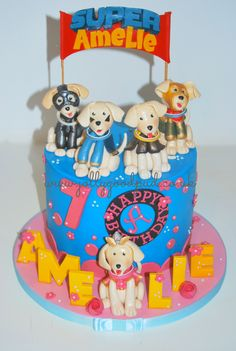 Super Buddies Cake from The Jolly Good Pud Company www.jollygoodpud.co.uk