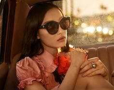 Luxury fashion brand Gucci has tapped Chinese actress Ni Ni for its spring 2017 eyewear campaign. The advertisements will launch in Asia next month. Captured by Glen Luchford, the star poses in the back of a car for the moody shots. With rain-drenched windows and neon lights in the background, Ni Ni shines in optical …