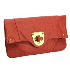 Urban Expressions Chelsea Clutch in Rust