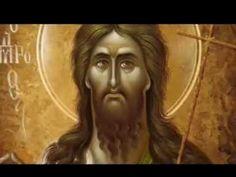 Apolitikion St John the Forerunner Mona Lisa, Artwork, Youtube, Saints, Videos, Men, Work Of Art, Auguste Rodin Artwork, Artworks