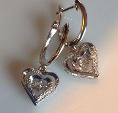 Rhythm of Love Heart Earrings