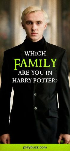 What family would you fit into best in Harry Potter, take this quiz and find out? THE WEASLEYS ♡