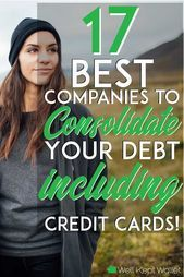 21 Best Companies to Consolidate Credit Card Debt - Best Credit Cards - Ideas of Best Credit Cards - Save big money and pay off debt fast by consolidating to a low interest rate loan. These companies can help you consolidate your debt quickly and easily. Paying Off Credit Cards, Best Credit Cards, Credit Score, Illinois, Debt Relief Companies, Card Companies, Piercings, Debt Consolidation, Student Loan Debt