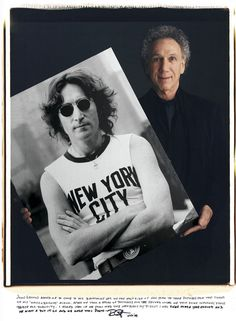 Iconic photos and the photographers who took them. Bob Gruen - John Lennon.