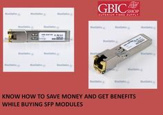 The complete set of servers combined with latest SFP modules can add up and cost a huge amount for the companies. But the   investment on these things is quite essential because of the reliable and efficient communication techniques that these   products offer.