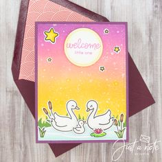 This project uses the Swan Soirée set, Super Star set, Grassy Die, Stitched Inside Out Circle Stackables Die, & Stitched Inside Out Rectangle Die by Lawn Fawn. Check out my blog for more details!