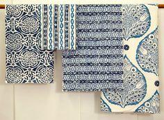 Cute Blue Fabrics