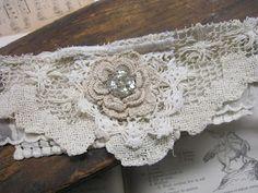 Vintiquities Workshop: Tattered Layers, antique lace, cuff bracelets...