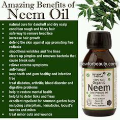 Neem oil (Do not use if pregnant or TTC!)