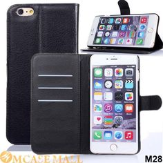 100x Litchi Magnetic Flip Leather Case For iPhone 6 Plus Wallet Folio Book Style With Card Slot Stand For i6 Phone Bag Cover, Accept the payment method via Paypal, Escrow, Credit Card, etc...