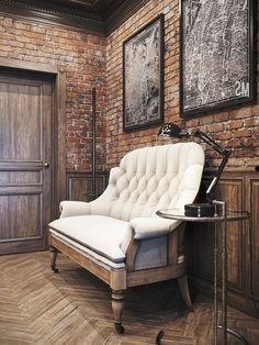 rustic office design | denis krasikov 3