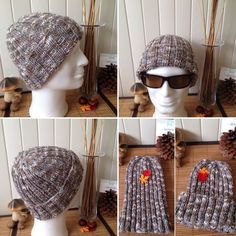 I put at your disposal the tutorial for the realization of a man's beanie in one size in ribs. You will find 3 … Source by pafamarconnet Bandeau Crochet, Beret, Xmas Gifts, Mets, Crochet Hats, Beanie, Couture, Knitting, Owl Hat