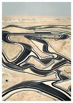 Andreas Gursky, Bahrain I (2005)