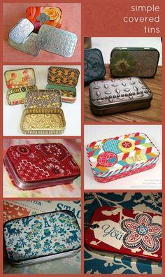 A Beautiful Little Life: ReUse Altoids Tins! Crafty Fun Ideas!