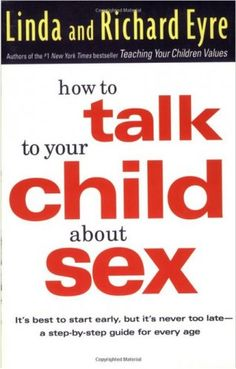 "Great comprehensive list of books for ""the talk"" divided by age and gender.  Also includes selections for mom and dad."