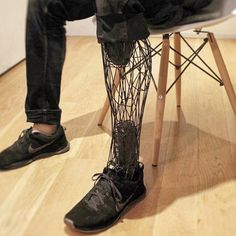 Something we liked from Instagram! cool structure on this 3D printed prosthetic! 3D printed cover on prosthetic leg to give the leg a symmetry! Beautiful picture! #prosthetics #leg #cover #3dprint #3dmarket #3dprinter #3dprinting #design #designer #development #prototype #shoe #electronics #technology #tech #electronic #device #gadget #gadgets #instatech #instagood #geek #techie #nerd #techy #photooftheday #computers #laptops  #future by 3d_market check us out: http://bit.ly/1KyLetq