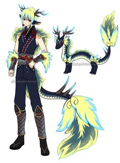 Demyan's experiment, found unknown bones which he extracted DNA from and injected it into a woman's womb then stole the baby at its birth.  He's the result, an ancient chinese dragon -abilities still unknown.  but the guy has been unable to be manipulated by Demyan so he's promising