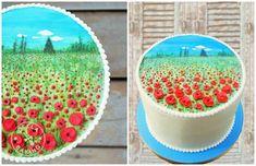 multi-dimensional-cake-decorating-poppy-field-cake-by-Bella-Baking.jpg (606×392)