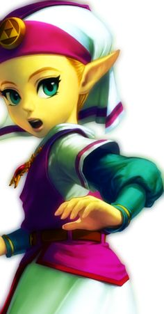 She was so adorable when she was nine.  Ocarina of Time <3