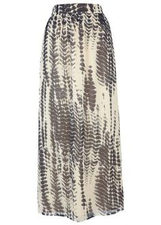 Wallis printed maxi skirt, £35 - skirt - skirts - best skirts - high street - fashion - shopping - marie claire